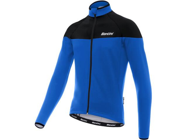 Santini Hermes - Maillot manches longues Homme - bleu noir ... 5874a68861c